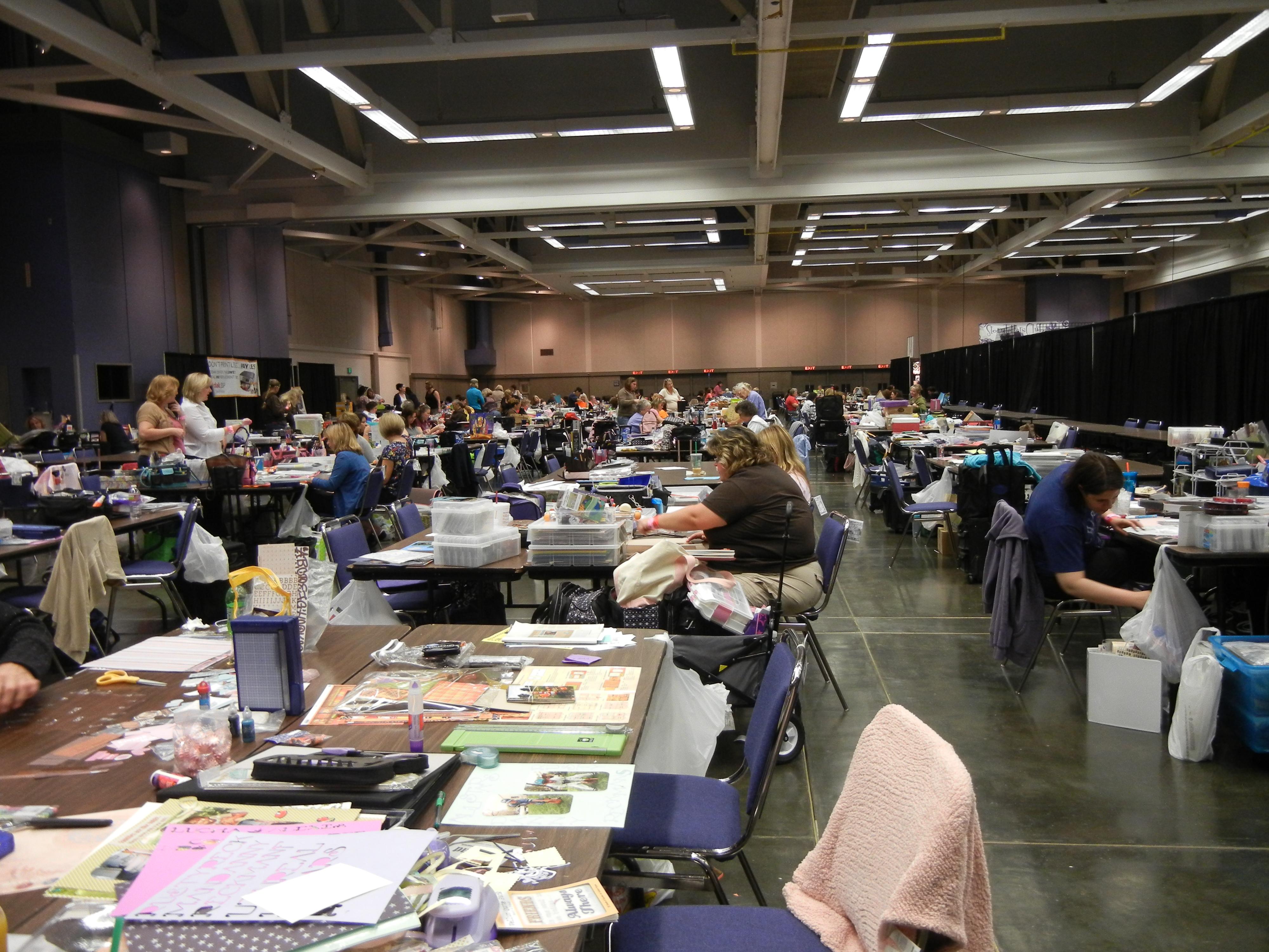 Scrapbook Expo Tattered N Worn
