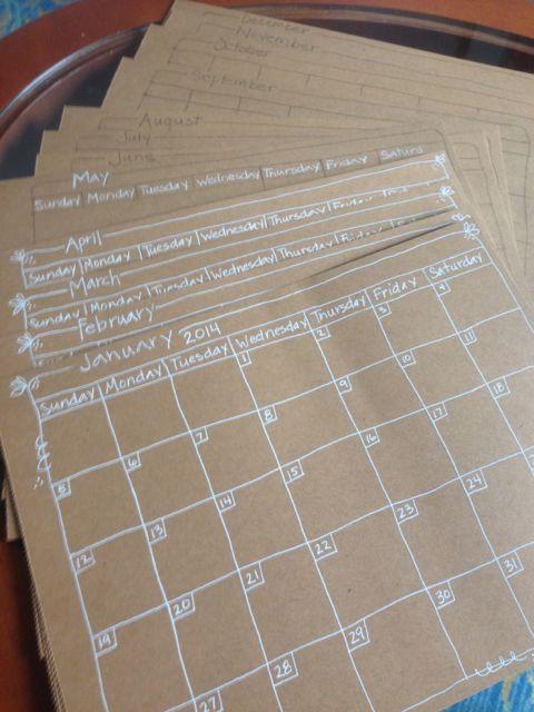 DLP calendar-m-m